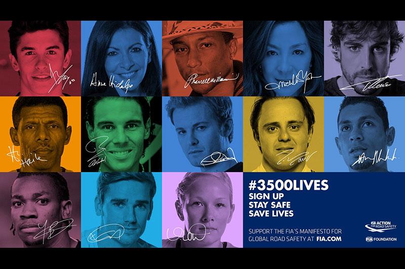 12. FIA #3500LIVES Campaign at the 24th WSJ